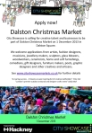 Dalston Christmas Market 2013 Call out Poster m