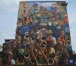 Dalston Peace Carnival Mural